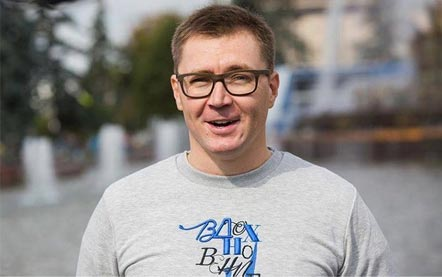 На фото: Владимир Игоревич Погребенко